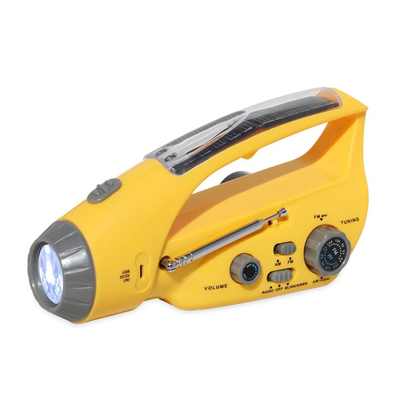 """""""猎豹""""288DUS 手提式太阳能应急灯"""